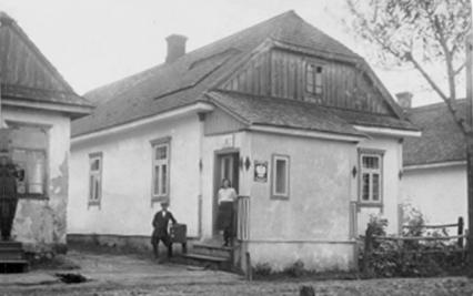 Zofiowka_(Trochenbrod)_Post_Office,_Poland